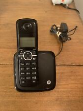 Motorola DECT 6.0 Cordless Phone W/ Handset and Caller ID L601M W/ Power Supply