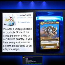 Wooly White Rhino WoW World of Warcraft TCG Loot Card Wooly White Rhino Mount