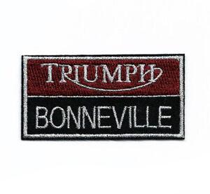 Triumph Bonneville Iron on Patch