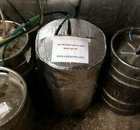INSULATED KEG JACKET cooler cooling lager beer smooth kegs bar pub barrel