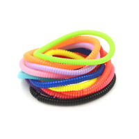 10X Candy Color Hair Band Elastic Head Rope Women Telephone Line Hair Holder WG