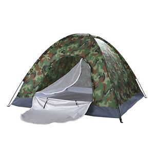 Waterproof 2-3 Person Camping Hiking Exploration Tents Quick Setup Easy To Carry