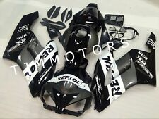 For CBR1000RR 04-05 ABS Injection Mold Bodywork Fairing Kit Black Grey Repsol
