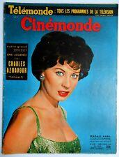 ►CINE MONDE 1247/1958-BRIGITTE BARDOT- LIZ TAYLOR- LINE RENAUD- MAURICE RONET...