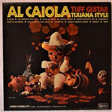 Al Caiola Tuff Guitar Tijuana Style Latin LP NM Vinyl InnSlv Spanish Harlem