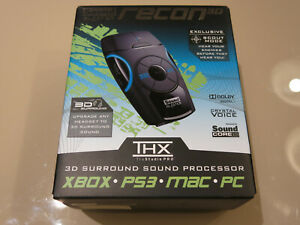 New Creative Sound Blaster Recon3D THX USB External Sound Enhancer MAC PS3 XBOX