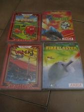 Lotto 4 giochi per commodore Amiga originali Completi Boxed