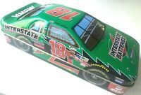 "2004 Nascar Race Car Collectible Tin Bobby Labonte No 18 Interstate Batteries 8"""