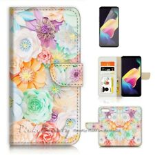 ( For Oppo AX5 / A3S ) Wallet Flip Case Cover P21594 Flower