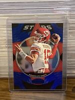 2020 Panini Certified Patrick Mahomes II Stars Blue Foil Parallel SP /75 Chiefs