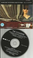 THE COASTERS Sorry w/ THE ROBINS Framed LIMITED VOLKSWAGEN CD Single USA seller
