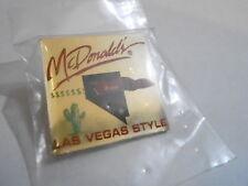 NOS McDonalds Advertising Enamel Pin #81 - LAS VEGAS NEVADA