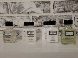 Beekman 1802 Fresh Air Travel Lot Shampoo Conditioner Lotion, Shower Gel, Soap 7