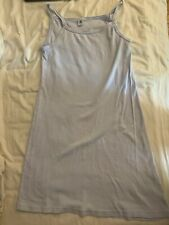 Petit Bateau Strappy Long Sleevless Chemise Vest Dress Nightdress Sz 16/18yrs