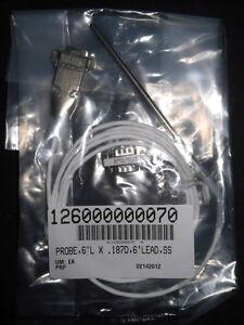 "Fisher 6ft PT100 Remote Sensor w/ 6"" Probe for 6200 Isotemp Bath Circulator"
