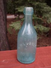 Antique Blob Top Soda Bottle A. H. Lubbers 670 8th Ave  N.Y.