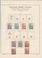 germany 1945-1946 russian zone stamps page ref 18709