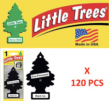 Black Ice Freshener 10155  Little Trees Air Little Tree MADE IN USA Pack of 120