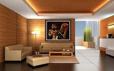 STEPHEN HOLLAND Original Giclee on CANVAS Magic Johnson Signed Basketball Art
