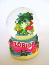 Florida Snow Ball Alligator Flamingo Crocodile Snowglobe Souvenir