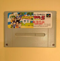 Dragon Ball Z Chou Gokuuden Totsugeki Hen(Nintendo Super Famicom SNES SFC, 1995)