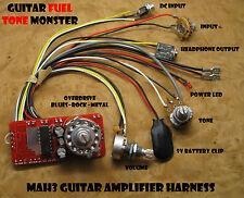 TONE MONSTER MAH3 NO SOLDER Guitar Amp Harness 3W Overdrive HDPH Cigar Box