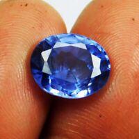 Natural 5.80 Ct Ceylon Blue Sapphire Oval Cut  Loose Gemstone D 2912