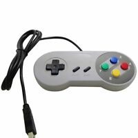 Retro Super Nintendo SNES USB Controller Jopypads for Win PC/MAC Gamepad