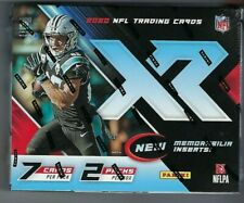 2020 Panini XR Football Hobby Box Sealed New