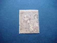 MONACO 1891 Prince Albert issue brown/orange fine used 50c value Cat £7-25