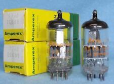 2-Amperex 6DJ8 ECC88 Vacuum Tubes NOS/NIB Amplitrex Tested A-Frame Holland