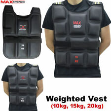 Maxstrength Weighted Vest Running Gym Fitness Cardio Training Weight Loss Jacket