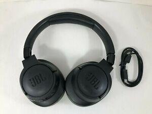 JBL TUNE 750BTNC Noise-Canceling Wireless Over-Ear Headphones Black Genuine OEM