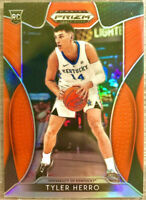 2019-20 Panini Prizm Tyler Herro Silver Orange Rookie RC Miami Heat 🔥📈