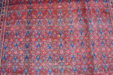 5'4 x 10'3 Vintage Genuine Kurdish Tribal All Over Design Handmade Wool Area Rug