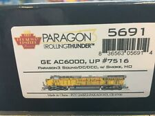 HO GE AC6000, UP # 7516 DCC W/Sound