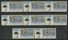 Israel, Seagull Birds, Values Type 1, Doarmat No.001 ATM MNH Stamps, Lot - 203