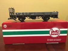 Lgb 40230 Low Side Trolley Flat Car With Pipe Load