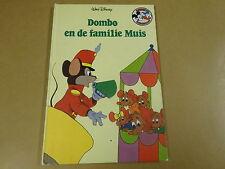 BOEK WALT DISNEY / DOMBO EN DE FAMILIE MUIS