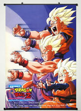 Dragon Ball Z - Super Fighting Hot Japan Anime 60*90cm Wall Scroll Poster @365