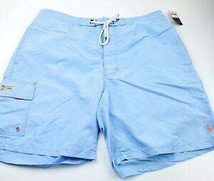 Polo Ralph Lauren Swim Trunk Shorts Mens Size 2XL XXL Light Sky Blue