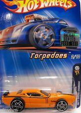 2005 Hot Wheels DODGE CHARGER  First Editions TORPEDOES Series #042 FACTORY SET