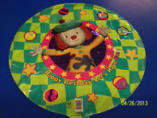 "RARE JoJo's Circus Clown Disney Kids Birthday Party Decoration 18"" Mylar Balloon"
