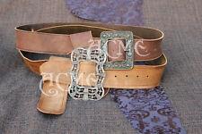 OST Jack Sparrow leather Waist Pirate belt buckle set  Anna Maria OR Sunflower