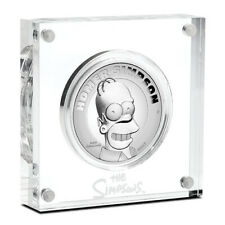 *NEW* 2021 Tuvalu Homer Simpson 2 oz Silver Coin High Relief (2000 Mint)