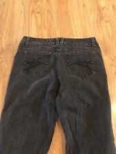 Women's GLORIA VANDERBILT jeans Size 10 Faded Black Have Been Hemmed. Check Meas
