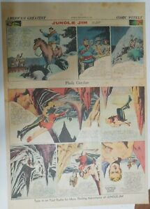 Flash Gordon Sunday by Alex Raymond from 9/20/1942 Large Full Page Size !
