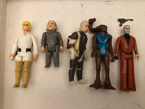 Luke Skywalker Vintage Star Wars Kenner Figure 1977