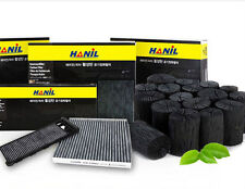 Charcoal activated carbon cabin air filter For Hyundai New Santafe(2008~2009)///
