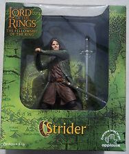 LOTR. STRIDER FIGURE. 7 INCHES. FELLOWSHIP OF THE RING. APPLAUSE. NEW IN BOX